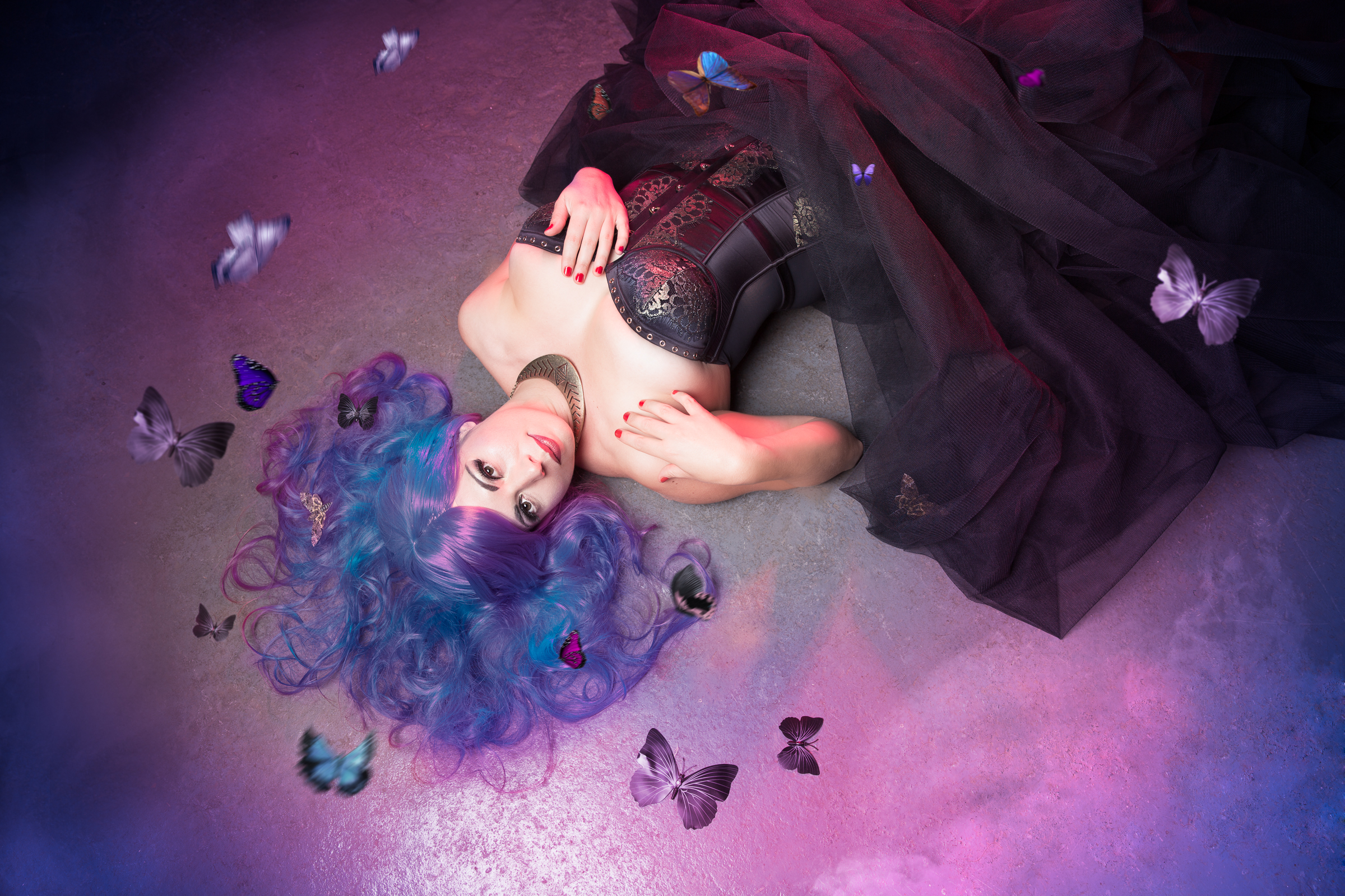 Death Moth Fantasy PhotoShoot│Melissa Katherine