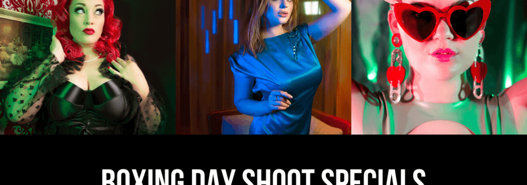 BOXING DAY SHOOT DEALS | Melissa Katherine